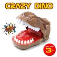 Mainan Crazy Dino Dentist Gigit Jari Dinosaurus Game