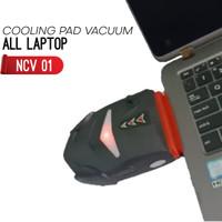 Cooling pad vacuum / kipas laptop hisap dari samping kualitas terbaik