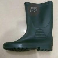 sepatu bot Forli Hijau Dove Tinggi boot Lentur karet proyek anti air