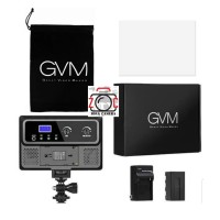 GVM 10S RGB LED Video Light Lampu Vlog SLR Handphone Lighting Panel