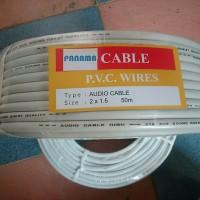 Kabel listrik serabut 2 x 1.5 PVC