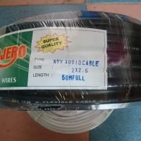 Kabel listrik serabut 2 x 1.5