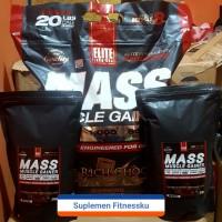Repack EliteLabs Elite Labs Mass Muscle Gainer 2 lb 20lb 20lbs lbs 20