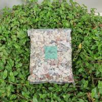 batu hias tanaman aquarium aquascape batu pancawarna 1 kg -