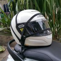 Pengikat Penyimpanan Helm Motor KYT Shoei Arai Zeus KBC Ink Nolan Bell