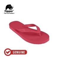 Fipper Basic M / Sandal Jepit Pria / Red Ruby