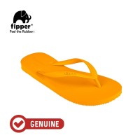 Fipper Basic S / Sandal Jepit Wanita / Yellow Mustard