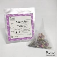 SilverRose - French Rose Lavender White Tea Teabag - Teh Putih - 1tb