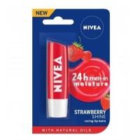 NIVEA Strawberry Shine Lip Care Fruity beauty stick 4.8g (8769068)