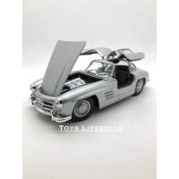 Welly Diecast - Mercedes Benz 300 SL Skala 1:24 (Silver)