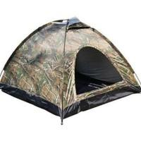 Tenda Camping Lipat Motif Camo Untuk 2-3 Orang .