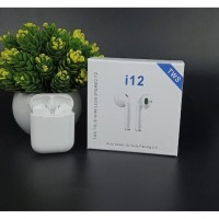 Handsfree Headset bluetooth TWS i12 Earphone Wireless