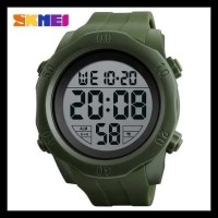 Jam Tangan Pria Original Skmei S-Shock Sport Watch Waterproof - Hitam