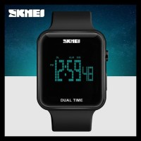 Jam Tangan Pria / Wanita Digital Original Skmei 1271 Anti Air - Black