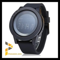Jam Tangan Pria Skmei 52Mm Men Led Display Watch Dg1142 Black 1142