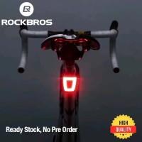 Rockbros TT30-WD lampu belakang sepeda dan helm berkualitas