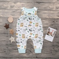 [Bayar Di Tempat]BabyL Newborn Baby Kids Small Vest Casual Outfit