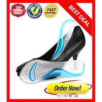 Insole gel pad sepatu / bantalan kaki gel silicone / alas tumit