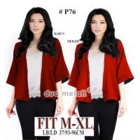 baju merah blouse merah baju imlek merah atasan sincia atasan merah