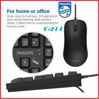 Philips C214 Keyboard Mouse USB Combo