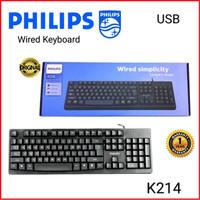 Philips K214 Keyboard USB kabel Original