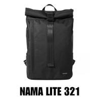 READY Tas Backpack NAMA STUDIOS Lite 321 - Hitam - Tas Ransel Sekolah