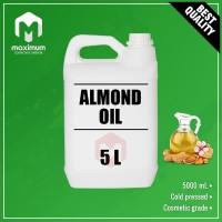 Pure Almond Oil 5 Liter - Cold Pressed - Minyak Almond Murni 5 Liter