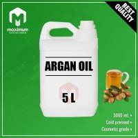 100% Pure Argan Oil 5 Liter - Minyak Biji Argan Murni - Cosmetic Grade