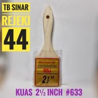 KUAS CAT RBJ 2½ 2.5 inch Murah Lumayan Berkualitas bukan ETERNA 633V