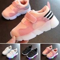 ORI Import Premium Baby LED Running Shoes Boy Girl Sepatu Nyala Anak