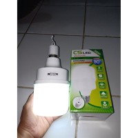 Bohlam Emergency CS 38Watt Lampu LED Sentuh