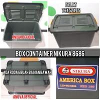 BOX CONTAINER NIKURA CANADA. 8686. JUMBO HIJAU. SETARA SHINPO CB 130