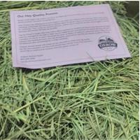Makanan kelinci gp torto OXBOW Orchard hay 1kg Setara Rumput Timothy