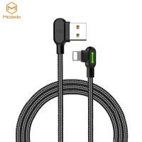 MCDODO CA-467 Lightning iPhone Kabel Data & Charge 90 Degree Light Cab