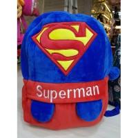 tas ransel karakter anak DC : SUPERMAN p30cm t38cm