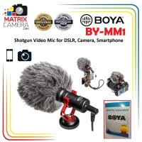 BOYA BY-MM1 Shotgun Video Microphone for DSLR Camera Smartphone dll
