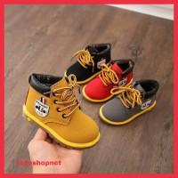 Sepatu Boots Bayi/Anak Laki-Laki/Perempuan 1-3.5 Tahun Impor Original - Size 21, Grey