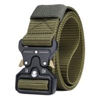 Rhodey Tali Ikat Pinggang Canvas Military Tactical 125cm -MU055- Green