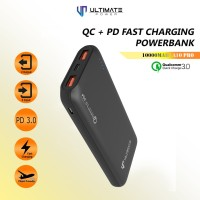 PROMO Ultimate Power QC+PD Fast Charging Powerbank 10000mAh A10 PRO