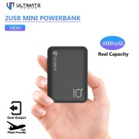 PROMO Ultimate Power 2USB Mini Powerbank 10000mAh MD10