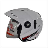 Helm GP Zeus Solid White