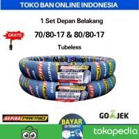 Paket Ban Aspira Premio Sportivo 70/80-17 & 80/80-17 Tubeless For bebe