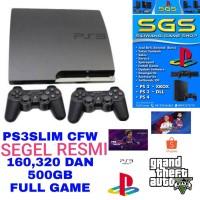 playstation 3 ps 3 ps3 slim cfw 500 giga fullgame siap pake