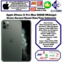 Apple Iphone 11 PRO MAX 256GB 11 256 GB iBOX-RESMI-GREEN