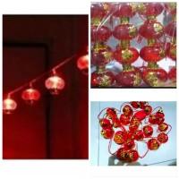 PROMO MURAH Lampu Led String Lampion Hiasan Imlek