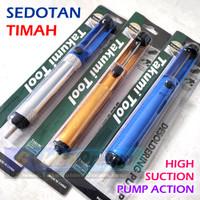 Sedotan Timah Solder Desoldering Pump Aspirator Atractor Pompa Sedot