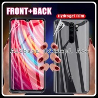 XIAOMI REDMI NOTE 8 PRO ANTI GORES DEPAN BELAKANG HYDROGEL 2IN1 SCREEN