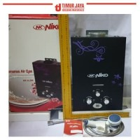 NIKO HITAM LED Water Heater Gas Digital Display PEMANAS AIR wasser
