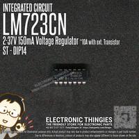 LM723 ST ADJUSTABLE VOLTAGE REGULATOR DIP14 LM723CN A