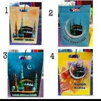 tas godiebag tas souvenir oleh oleh haji umroh 35 24 laminasi dy
